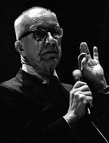 "Richard Buckminster ""Bucky"" Fuller - an American architect, systems theorist, author, designer, inventor, and futurist"