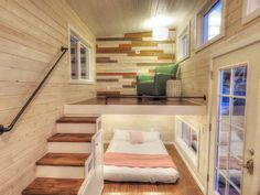 Many tiny house builders are asked to include nearly all the amenities of a standard house into a smaller space. Sometimes it can be done. The new Roomy Retreat by Sierra Tiny Houses in northern California features both a main floor sleeping area, a living room AND sleeping loft inside an area a smidge under …