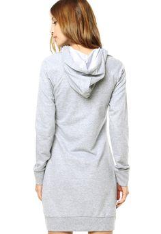 Vestido Calvin Klein Cinza - Compre Agora | Dafiti Brasil