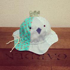 〈ベビー〉とりさんの帽子 (チューリップハット) | ハンドメイド、手作り作品の通販 minne(ミンネ)