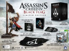 Assassins Creed IV Black Flag Limited Edition  Playstation 3 ** Learn more by visiting the image link. Note:It is Affiliate Link to Amazon.