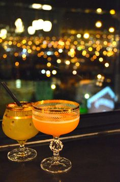 Drinks at Pot Luck Club in Cape Town plus more of the top Cape Town Restaurants/Bars