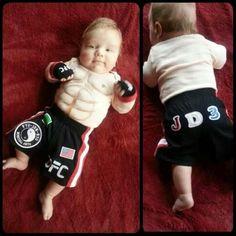 Mini UFC Fighter.