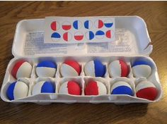 OT Therapy Idea of the Week as Seen on Pinterest: Ping Pong Ball Match   -  Pinned by @PediaStaff – Please Visit http://ht.ly/63sNt for all our pediatric therapy pins