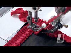 Como usar o calcador de fazer pregas (RUFFLER) - YouTube Sewing Hacks, Sewing Tutorials, Sewing Projects, Sewing Patterns, Pattern Art, Pattern Design, Sewing Machine Presser Foot, Bathroom Crafts, Crochet Carpet