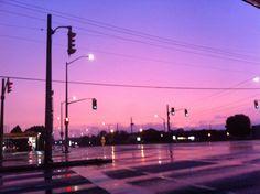 Image result for city pink sky