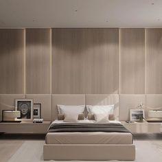 Contemporary bedroom interior design that very cozy 06 Modern Master Bedroom, Trendy Bedroom, Minimalist Bedroom, Contemporary Bedroom, Modern Contemporary, Modern Minimalist, Contemporary Building, Contemporary Wallpaper, Contemporary Architecture
