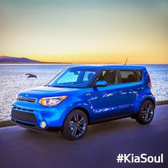 For your thrilling Tuesday. The 2015 #KiaSoul Caribbean Blue Special Edition. #Kia