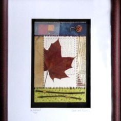 """This one is called Chaos and Fibonacci. The top of the frame got cropped out. Framed, the dimensions are 11"""" x 16."""""""