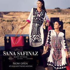 Sana Safinaz Ready to Wear Summer Collection 2014