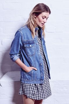 We are all over those season's gingham trend!
