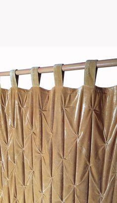 Pink Velvet Curtains, Luxury Curtains, Gold Curtains, Custom Curtains, Window Curtains, Room Divider Curtain, Curtain Room, Dining Room Curtains, Curtains Living