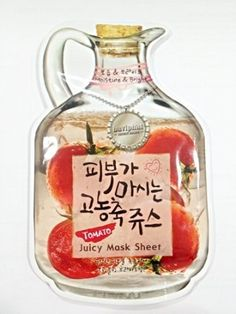 Baviphat Tomato Juicy Mask Sheet/moisture & Bright by Beauty-Loving. $5.95. Mask helped with the Moisture & Bright. deeply moistening your face and providing your rough and tired skin with pleasant softness and resilience. White massage mask pack leaves your face a whitening and healthy complexion;. Made in Korea. Save 34% Off!