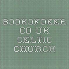 bookofdeer.co.uk Celtic church