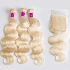 """La'Mo Hair on Instagram: """"Body Wave Blonde Bundles With Closure @lamohairextensions now available for anyone, anywhere, anyday 💗 up to 65% Off🔥 Link in the bio💕💗 • •…"""" Body Wave Weave, Body Wave Hair, Weave Hairstyles, Straight Hairstyles, Buy Hair Extensions, Best Virgin Hair, Mo Hair, Virgin Hair Bundles, Hey Gorgeous"""