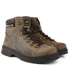 Black Boots - Bota Braddock Work Boot 6255 Marrom Escuro - BlackBoots