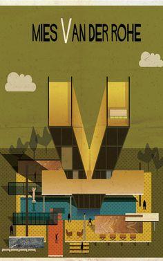 If 26 Famous Architects Designed An Alphabet   Co.Design   business + design