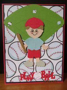 Everyday Paper Dolls - baseball