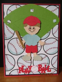 Cricut Everyday Paper Dolls - baseball
