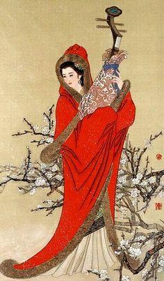 Wang Zhaojun, who is one of four ancient China beauties