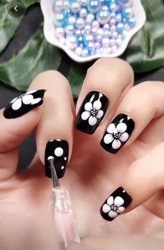 Cute Acrylic Nails, Gel Nail Art, Nail Art Diy, Gel Nails, Nail Polish, How To Nail Art, Nail Art Dotting Tool, Nail Art Tools, Nagellack Design