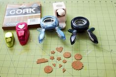 Make Your Own Cork Embellishments