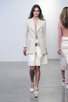 Calvin Klein Collection | Resort 2013 Collection | Vogue Runway