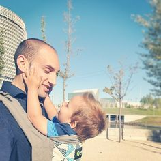 """""""I love you papa! It's pure sugar! Father And Son, Mom And Dad, Boba Baby Carrier, Love You Papa, Bonding Activities, Babywearing, Child Life, Fathers, Dads"""