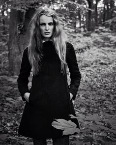 het mysterie: ymre stiekema by hans van brakel for marie claire netherlands october 2013
