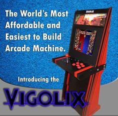 Instructables - DIY Arcade Machine!