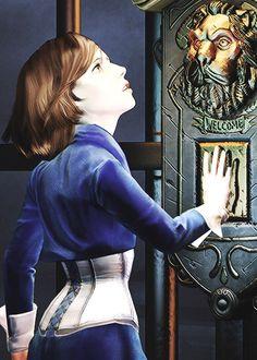 Amazing fanart of Elizabeth/Anna in the lift. It looks so realistic.