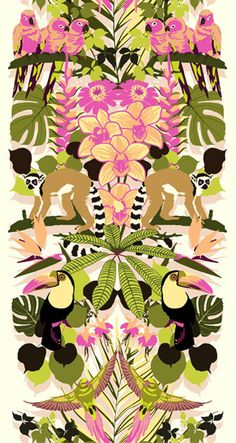 by Sarah Devey, surface and pattern illustrator and textile design