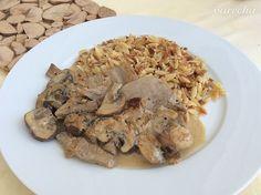 Zjednodušený nepravý beef Stroganoff (fotorecept) - recept | Varecha.sk