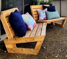 Outdoor Furniture Plans, Woodworking Furniture Plans, Diy Patio Furniture Cheap, Homemade Outdoor Furniture, Lounge Furniture, Outside Furniture, Patio Chairs, Outdoor Chairs, Pallet Chairs