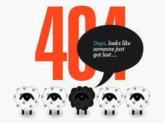 Website design deserves a 404