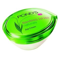 Pond flawless white Natural day cream 50G. by POND'S. $17.73. Pond's Flawless White Natural day cream contains the wonder of Camellia leaf extract. Found in the foothills of the Himalayas, this precious extract contains powerful antioxidants to fight against the causes of skin darkening. After years of research, Pond's Flawless White Naturals day cream, containing the extraordinary Camellia leaf extract, is specially formulated to lighten skin and reduce dark spots.