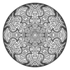 Mandala drawing 1 by Mandala-Jim.deviantart.com on @deviantART