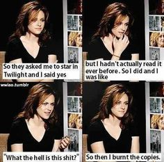 And now you know: nobody likes Twilight.