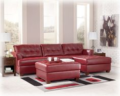 121292 Price Includes 2 Pc Blended Leather Sectional   Metropolitan  Furniture