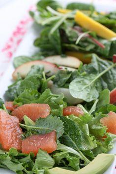 3 Perfect Summer Salads via @Abu mnsar Saad n' Focus