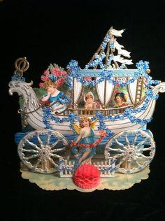 Валентинки Викторианской эпохи - Ярмарка Мастеров - ручная работа, handmade