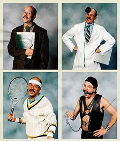"""Tobias Funke Headshots to print for """"party favors/casting director"""" bags"""