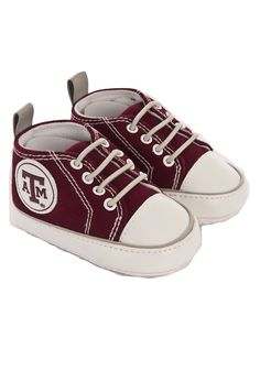 How cute are these? Texas A & M Aggies Baby Shoes http://www.rallyhouse.com/college/texas-am-aggies/a/baby?utm_source=pinterest&utm_medium=social&utm_campaign=Pinterest-TexasAMAggies