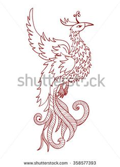 Find Chinese Traditional Red Phoenix Feng Shui stock images in HD and millions of other royalty-free stock photos, illustrations and vectors in the Shutterstock collection. Feng Shui Tattoo, Drawing Art, Art Drawings, Confidence Tattoo, Phoenix Drawing, Tattoo Ideas, Tattoo Designs, Fire Element, Types Of Art