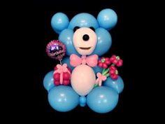 Talking Balloon Giant Bear