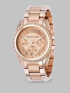 dba08a20642e Michael Kors   Stainless Steel Watch  GiveSaks Mk Watch