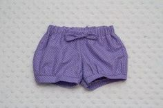 Lovely Baby Shorts free sewing pattern and tutorial