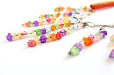 Ожерелье, Радуга ожерелье из муранского стеклянные бусы из бисера, ожерелье, Радуга ожерелье, ожерелье из муранского стекла, из муранского стекла бусы