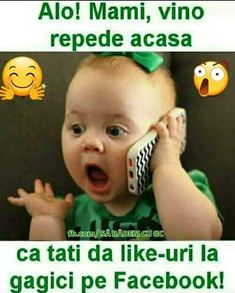 Lasă că vede tati😂😂😂 Haha Funny, Funny Texts, Albondigas, True Words, Really Funny, Cringe, Good To Know, Funny Pictures, Funny Quotes