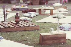 picnic oh!myWedding: Decorar de una manera original con palets de madera